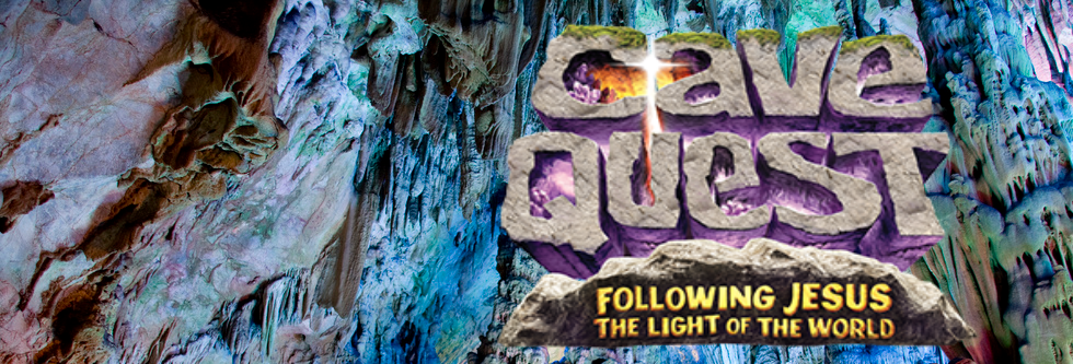 VBS KIDS CAMP 2016CAVE QUESTJuly 25th - 29th 9 am - noonCLICK HERE TO REGISTER OR VOLUNTEER!!
